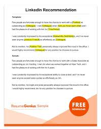 recommendation sample letter of recommendation samples templates for employment rg