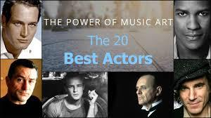 the best actors according to imdb