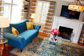 peacock blue furniture. Peacock Blue Sofa Living Room Eclectic With Aqua Pillow Sofa1 Furniture