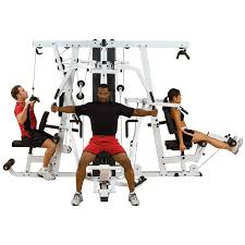 Multi Station Home Gym Exercise Chart Exm4000s Exm4000s Gym System Body Solid Fitness