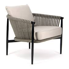 archi outdoor rope relaxing club chair