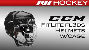 Ccm Fitlite Fl3ds Youth Helmet Review