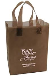 personalized wedding gift bags.  Gift Eat Drink And Be Married Personalized Wedding Gift Bags To