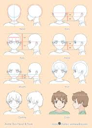 how to draw anime heads step by step for beginners. Fine Step Anime Boy Drawing 8 Steps Throughout How To Draw Heads Step By For Beginners A