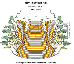 Massey Hall Concert Seating Chart Roy Thomson Hall Tickets And Roy Thomson Hall Seating Chart
