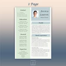 Resume Modern Temp Blue Resume Creative Resume And Cover Letter Template Google Doc