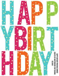 Printable Happy Birthday Letters Under Fontanacountryinn Com