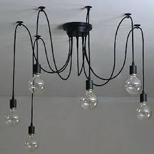 lamp chandelier and 6 heads vintage ceiling lamp chandelier pendant light home decoration 1 chandelier lamp