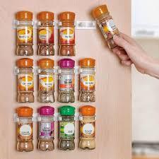 Spice Racks For Kitchen Aliexpresscom Buy Spice Rack Storage Wall Rack 12 Cabinet Door