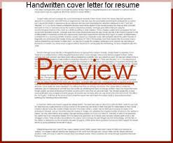 handwritten cover letters handwritten cover letter for resume homework academic writing service
