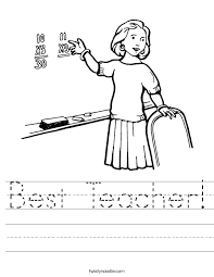 Teachers Worksheets For Worksheets for all | Download and Share ...