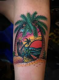 татуировка закат значение символика фото