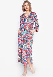 N Natori Size Chart Paisley Bloom Sleepwear Caftan