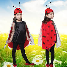 get ations children s halloween costume performance clothing cute ladybug costumes cosplay masquerade dress clothes
