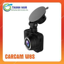Camera hành trình Carcam W8S Ghi hình trước tích hợp đọc biển báo tốc độ,  có GPS, Wifi (Miễn phí lắp đặt)