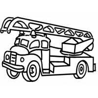 Disegni Da Colorare Per Bambini Camion Dei Pompieri Fredrotgans
