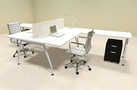 office workstation desks. Two Person Acrylic Divider Office Workstation Desk Set, #OF-CON-AP55 Desks