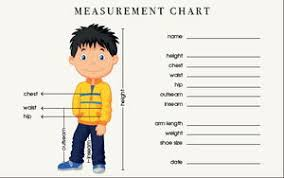 Measurement Chart Body How To Take Body Measurements Allfreesewing Com