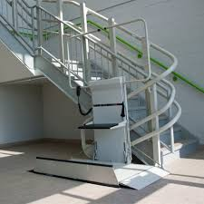 commercial wheelchair lift. Wheelchair Lift - Omega Inclined Platoform Commercial