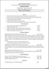 Objective For Truck Driver Resume Bus Driver Resume Truck Summary Sample Cv Cover Letter Shuttle 78