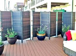 exterior privacy screens for windows deck screen make a lattice outdoor ideas patio decks apartment decoration outdoor privacy screen ideas