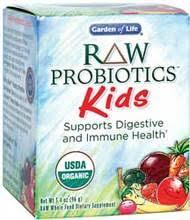 garden of life probiotics kids. RAW Probiotics Kids 96 Gm Powder Garden Of Life