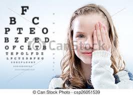Child Eye Test Chart Child Reviewing Eyesight