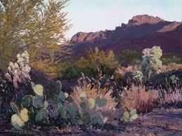 palette knife painting en plein air morning blush by swinney 9 x 12 oil on canvas copy