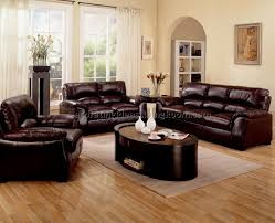 Living Room With Leather Furniture Living Room Decorating Ideas With Brown Leather Furniture 4 Best