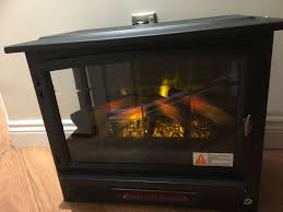 duraflame large infragen electric stove heater with 3d flame brand new paid 199