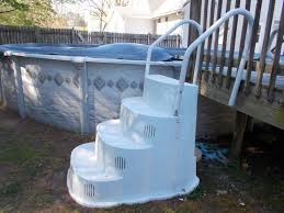 Awe Inspiring Wedding Cake Pool Steps Above Ground Style With