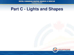 Maritime Lights And Shapes Ppt International Regulations For Preventing Collision At