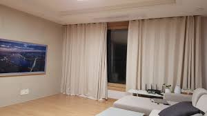 xiaomi curtain auto open close with inner and outer