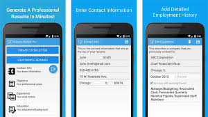 Exquisite Decoration Best Resume App For Android Free Resume Apps