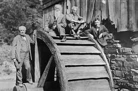 henry ford with thomas edison. Wonderful Ford Thomas Edison John Burroughs Henry Ford And Harvey Firestone And With Edison