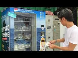 Fishing Vending Machine Gorgeous First Fishing Tackle Vending Machine In Singapore YouTube