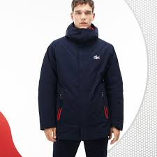 Men's Jackets and Coats | Lacoste Outerwear | LACOSTE & Men's French Sporting Spirit Edition Reversible Quilted Parka ... Adamdwight.com