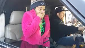 Girl having orgasm in car