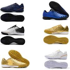 2019 new 2019 original indoor soccer shoes mens trainers tiempo ligera iv tf ic turf soccer cleats low indoor tiempo leather football boots from