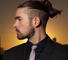 Image Coiffure Cheveux Long Attaché Homme Coiffure Cheveux