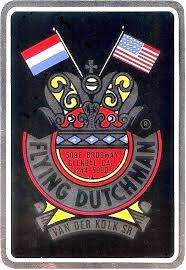 sparta acirc myrons mopeds flying dutchman frame sticker 200dpi