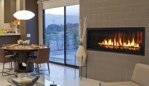 superior linear luxury contemporary 54 direct vent gas fireplace