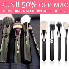 on the 9th day of 10 days of glam macy s brought all mac individual brushes