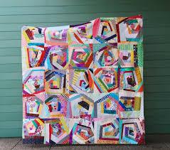 Scraps Go Round - An Improv Log Cabin Style Quilt — Cheryl Arkison & Scraps All Around Adamdwight.com