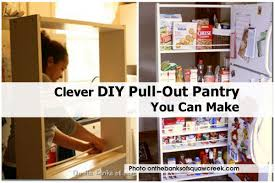 Roll Out Pantry Cabinet Diy Roll Out Pantry Diy Projects