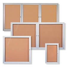 Outdoor Enclosed Bulletin Boards Impressive Exterior Bulletin Boards Model Collection