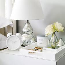 Decorative Accessories For Bedroom Stylish Ways to Make Your Bedroom a Chic Getaway White company 2