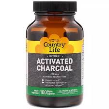 Country Life <b>Activated Charcoal 260</b> Mg