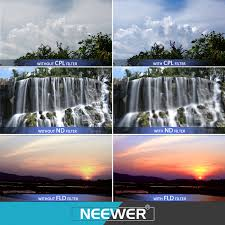 How To Filter Water Without A Filter Neewer 67mm Camera Lens Filter Kit For Lenses With 67mm Filter