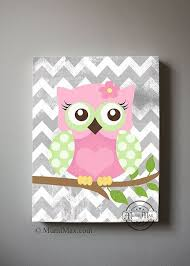 canvas prints for baby room. girls wall art - owl canvas art, baby nursery owl 16x 20 woodland prints for room t